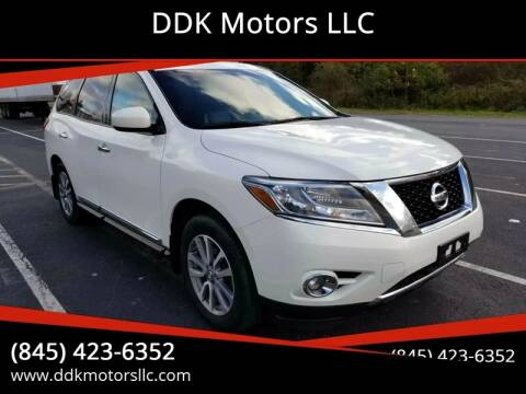 2014 Nissan Pathfinder for sale at DDK Motors LLC in Rock Hill NY