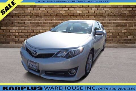 2014 Toyota Camry for sale at Karplus Warehouse in Pacoima CA