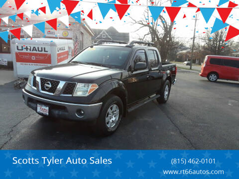 2005 Nissan Frontier for sale at Scotts Tyler Auto Sales in Wilmington IL