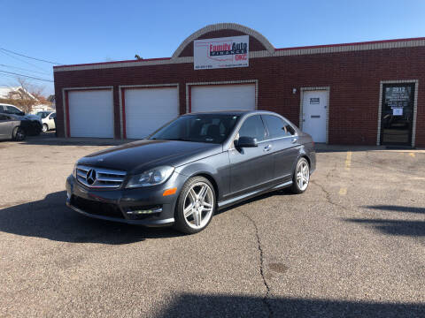 2013 Mercedes-Benz C-Class for sale at Family Auto Finance OKC LLC in Oklahoma City OK