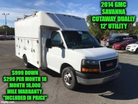 2014 GMC Savana Cutaway for sale at D&D Auto Sales, LLC in Rowley MA
