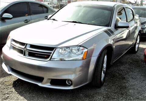 2013 Dodge Avenger for sale at DESERT AUTO TRADER in Las Vegas NV