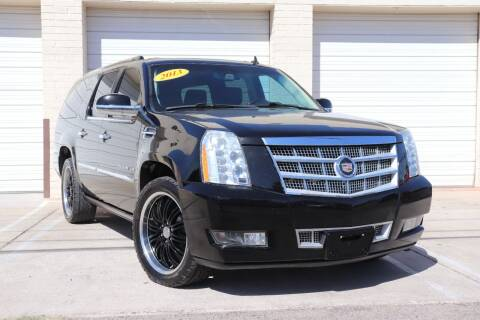 2013 Cadillac Escalade ESV for sale at MG Motors in Tucson AZ