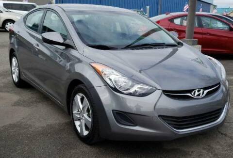 2013 Hyundai Elantra for sale at Artistic Auto Group, LLC in Kennewick WA