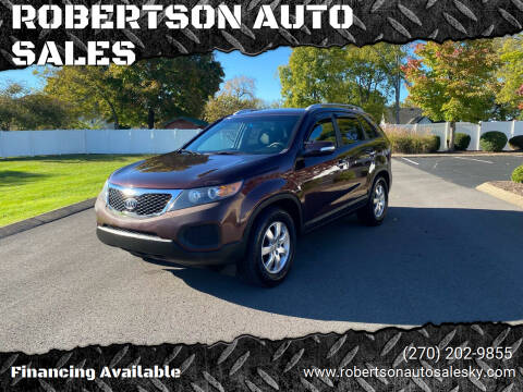 2012 Kia Sorento for sale at ROBERTSON AUTO SALES in Bowling Green KY