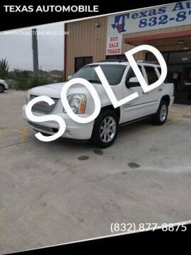 2008 GMC Yukon for sale at TEXAS AUTOMOBILE in Houston TX