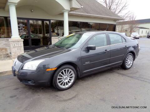 2007 Mercury Milan for sale at DEALS UNLIMITED INC in Portage MI
