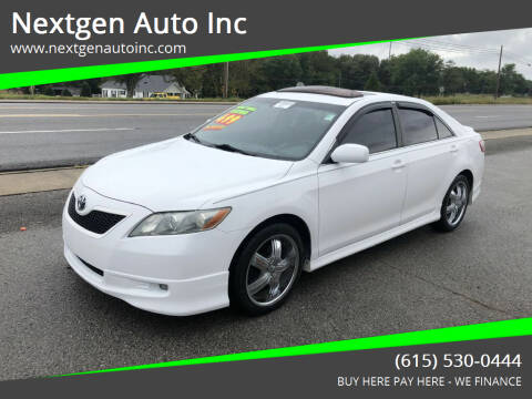 2007 Toyota Camry for sale at Nextgen Auto Inc in Smithville TN