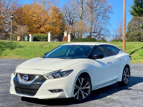 2017 Nissan Maxima for sale at Sebar Inc. in Greensboro NC