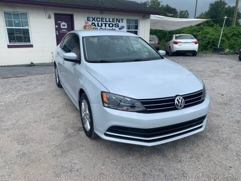 2017 Volkswagen Jetta for sale at Excellent Autos of Orlando in Orlando FL