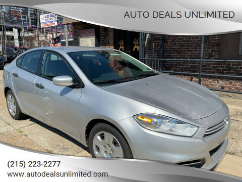 2013 Dodge Dart for sale at AUTO DEALS UNLIMITED in Philadelphia PA