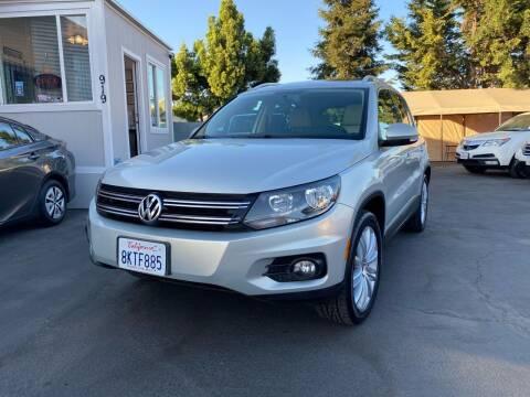 2012 Volkswagen Tiguan for sale at Ronnie Motors LLC in San Jose CA