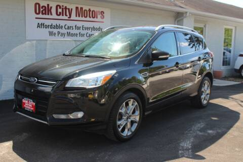 2014 Ford Escape for sale at Oak City Motors in Garner NC