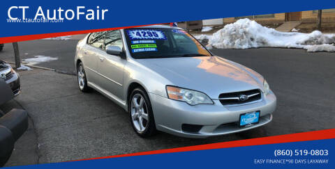 2007 Subaru Legacy for sale at CT AutoFair in West Hartford CT