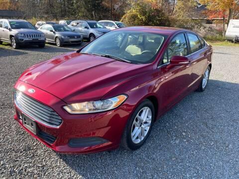 2013 Ford Fusion for sale at Auto4sale Inc in Mount Pocono PA