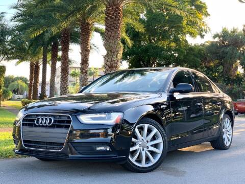 2013 Audi A4 for sale at HIGH PERFORMANCE MOTORS in Hollywood FL