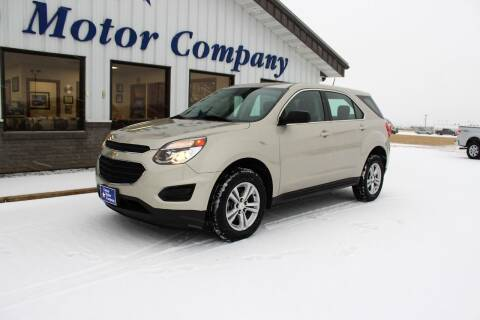 2016 Chevrolet Equinox for sale at Cresco Motor Company in Cresco IA