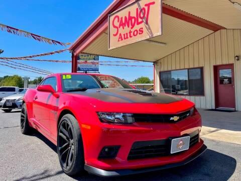 2015 Chevrolet Camaro for sale at Sandlot Autos in Tyler TX