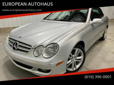 2007 Mercedes-Benz CLK for sale at EUROPEAN AUTOHAUS in Holland MI
