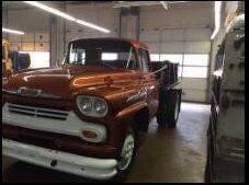 1958 Chevrolet C60 for sale at Classic Car Deals in Cadillac MI