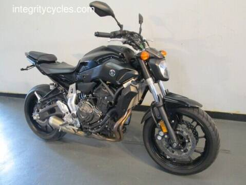 2016 Yamaha FZ-07 for sale at INTEGRITY CYCLES LLC in Columbus OH