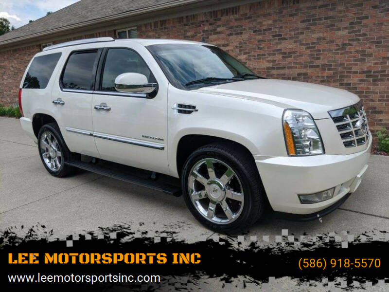 2011 Cadillac Escalade for sale at LEE MOTORSPORTS INC in Mount Clemens MI