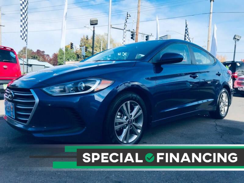 2018 Hyundai Elantra for sale at Salem Auto Market in Salem OR