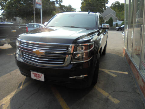 2015 Chevrolet Tahoe for sale at Washington Street Auto Sales in Canton MA