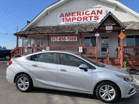 2017 Chevrolet Cruze for sale at American Imports INC in Indianapolis IN