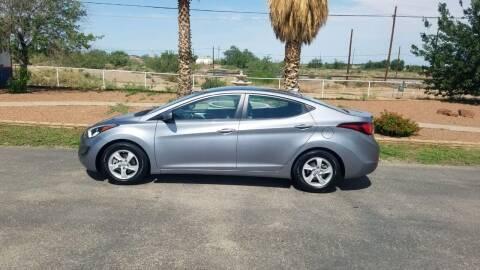 2014 Hyundai Elantra for sale at Ryan Richardson Motor Company in Alamogordo NM
