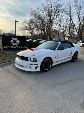 2008 Ford Mustang for sale at Station 45 Auto Sales Inc in Allendale MI