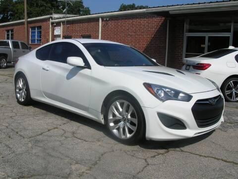2013 Hyundai Genesis Coupe for sale at South Atlanta Motorsports in Mcdonough GA