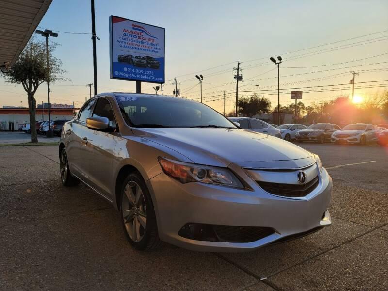 2013 Acura ILX for sale at Magic Auto Sales in Dallas TX