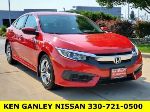 2016 Honda Civic for sale at Ken Ganley Nissan in Medina OH