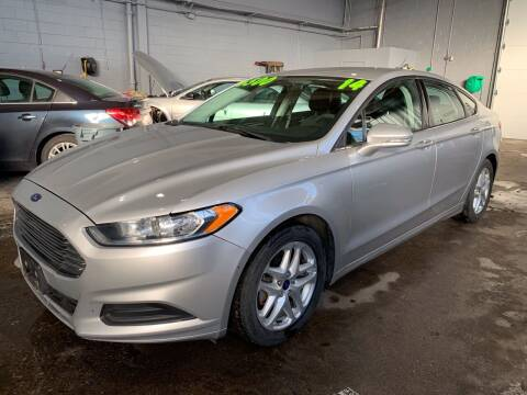 2014 Ford Fusion for sale at Square Business Automotive in Milwaukee WI