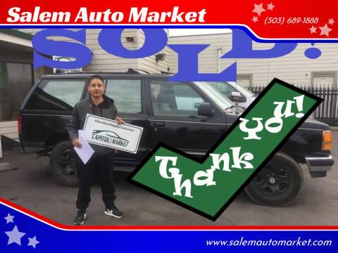 1994 Ford Explorer for sale at Salem Auto Market in Salem OR