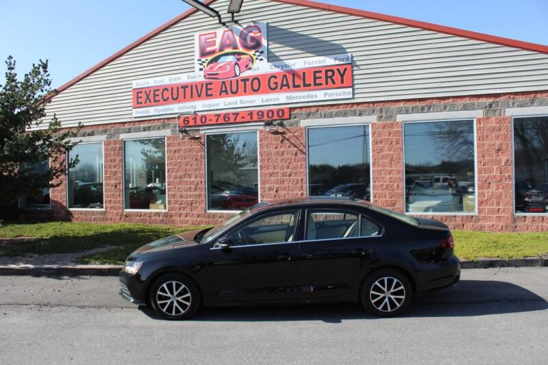 2017 Volkswagen Jetta for sale at EXECUTIVE AUTO GALLERY INC in Walnutport PA
