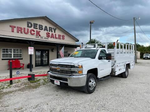 2016 Chevrolet Silverado 3500HD for sale at DEBARY TRUCK SALES in Sanford FL
