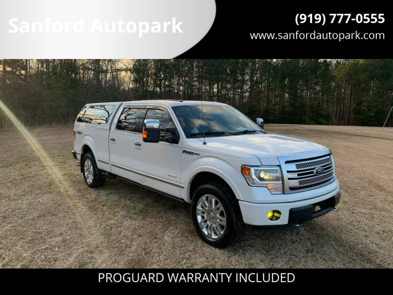 2013 Ford F-150 for sale at Sanford Autopark in Sanford NC