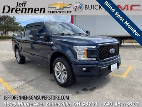 2018 Ford F-150 for sale at Jeff Drennen GM Superstore in Zanesville OH