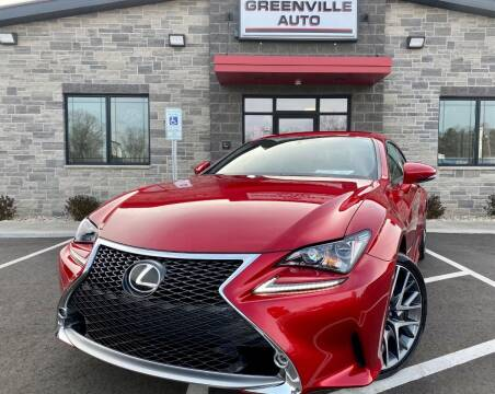 2015 Lexus RC 350 for sale at GREENVILLE AUTO & RV in Greenville WI