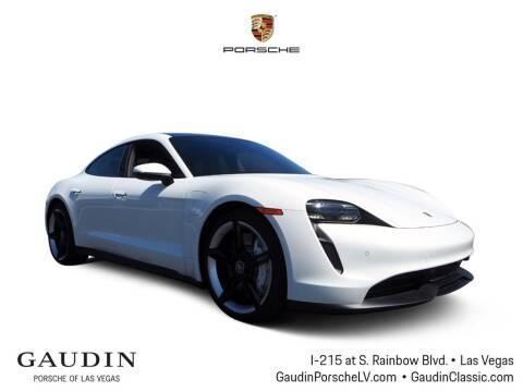 2021 Porsche Taycan for sale at Gaudin Porsche in Las Vegas NV