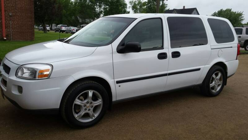 2008 Chevrolet Uplander for sale at GBS Sales in Great Bend ND
