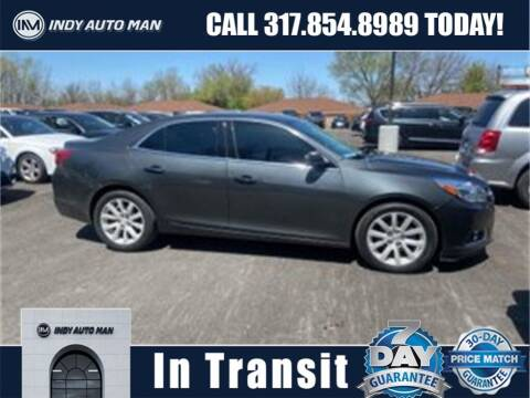 2015 Chevrolet Malibu for sale at INDY AUTO MAN in Indianapolis IN