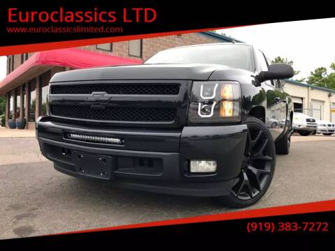 2010 Chevrolet Silverado 1500 for sale at Euroclassics LTD in Durham NC