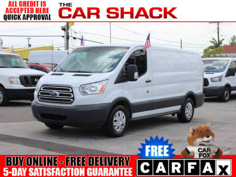 2017 Ford Transit Cargo for sale at The Car Shack in Hialeah FL