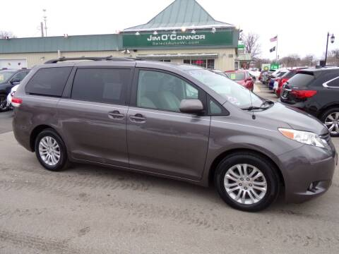 2011 Toyota Sienna for sale at Jim O'Connor Select Auto in Oconomowoc WI