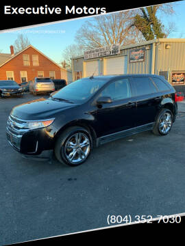2013 Ford Edge for sale at Executive Motors in Hopewell VA