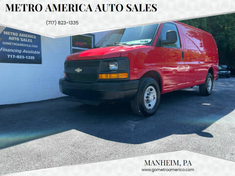 2015 Chevrolet Express Cargo for sale at METRO AMERICA AUTO SALES of Manheim in Manheim PA