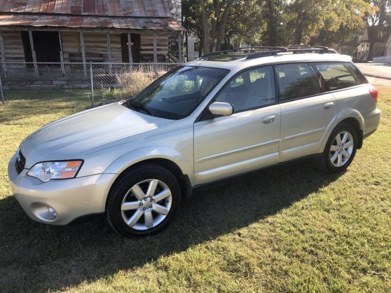 2007 Subaru Outback for sale at Village Motors Of Salado in Salado TX